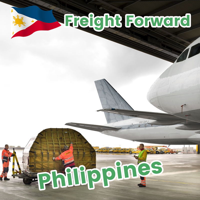 Guangzhou air freight Philippines DDP cheap rate forwarding service cargo shipping