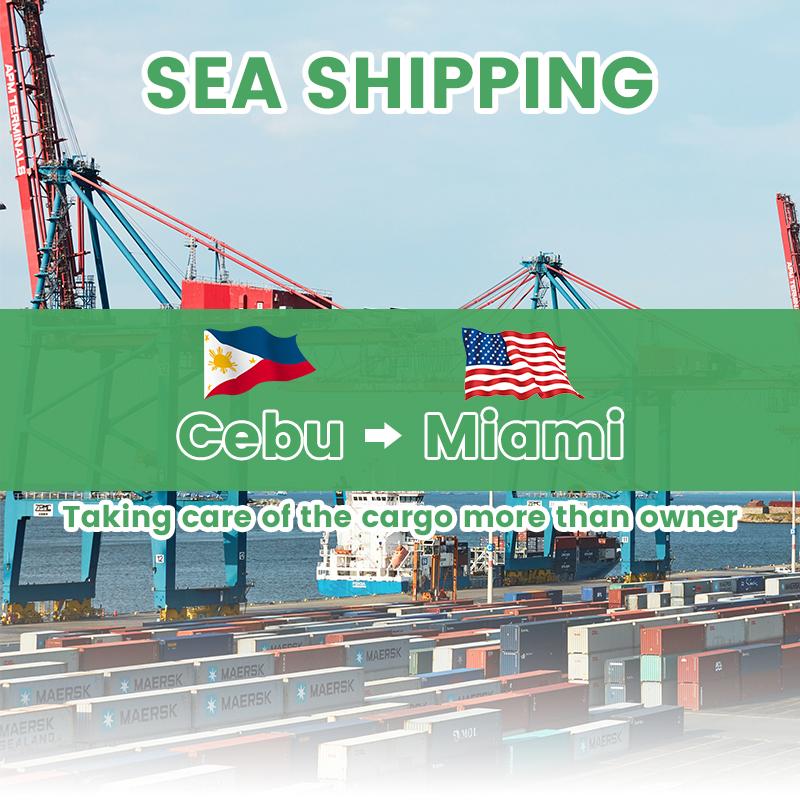 Transport Company mula sa Pilipinas sa USA Sea Shipping Freight Forwarder sa China