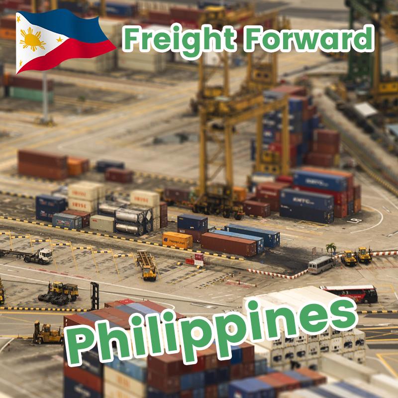 Pagpapadala ng Agent Logistics Service mula sa China hanggang Cebu Philippines Sea Freight Shipment