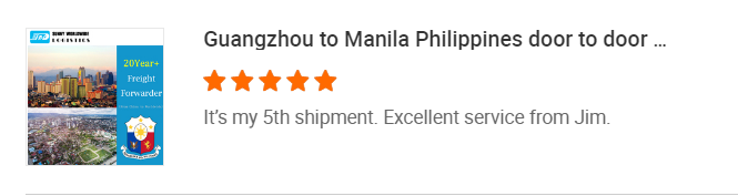 Sunny Worldwide Logistics Jim\'s story of serving Filipino customers ----------Only on time, no lateness, one choice, lifetime benefits.