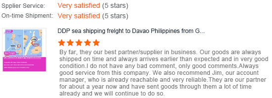 Reliable shipping agent China to Manila Philippines air freight forwarder
