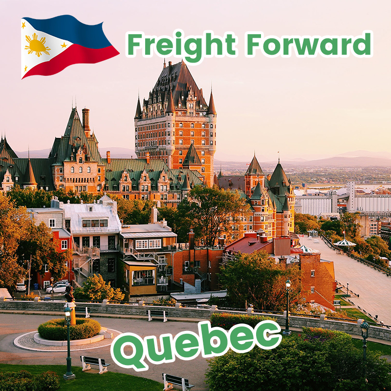 Philippines to Montreal Canada sea freight shipping agent in China ocean transportation