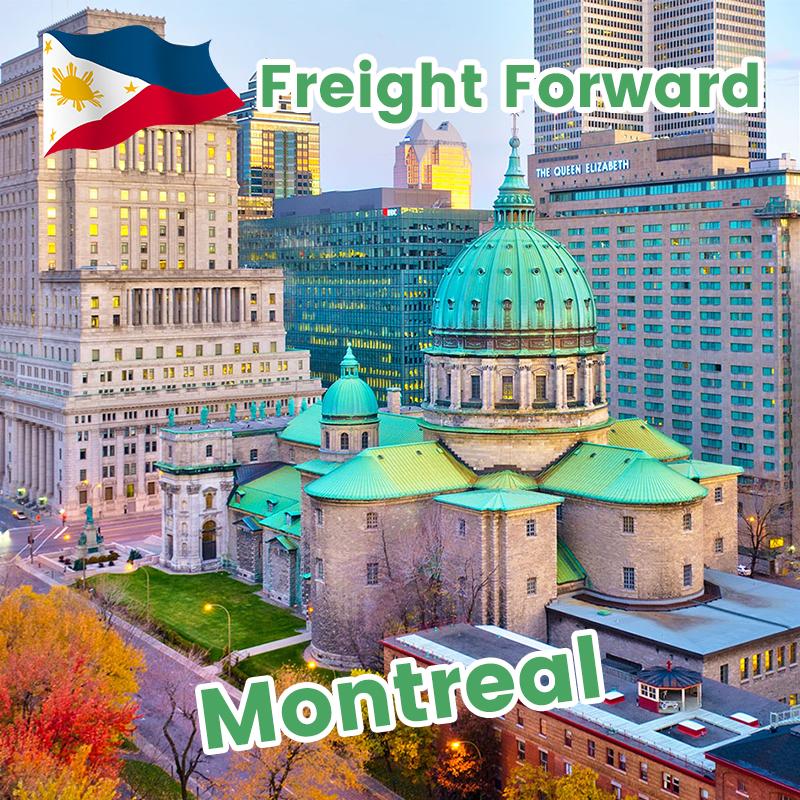 从菲律宾到加拿大航空货运的运输代理转发服务门到门服务