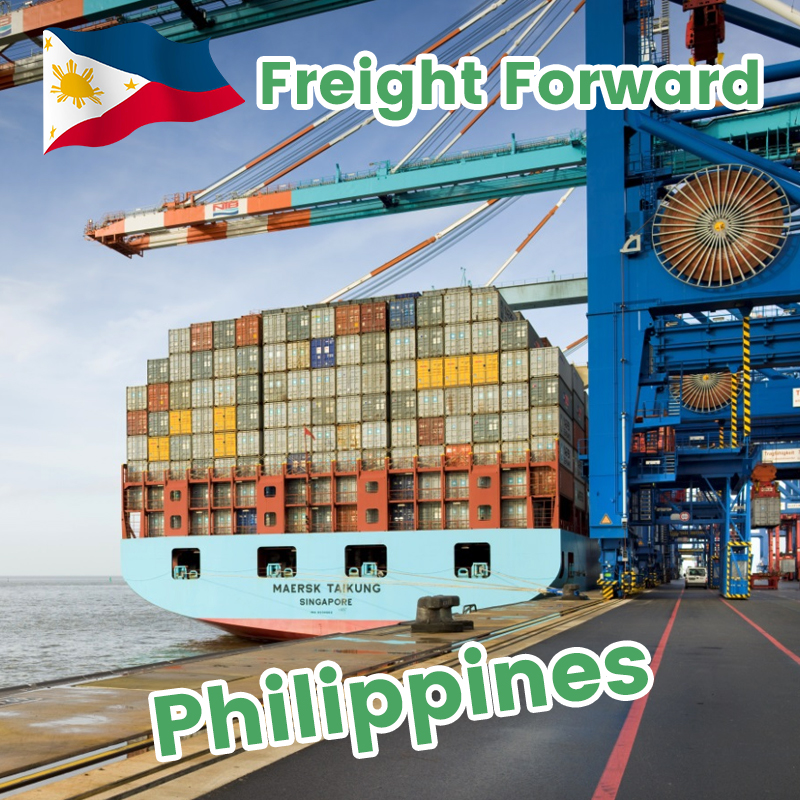 Ocean freight reliable and professional shipping agent DDP shipment China to Cebu Luzon Davao Manila Philippines