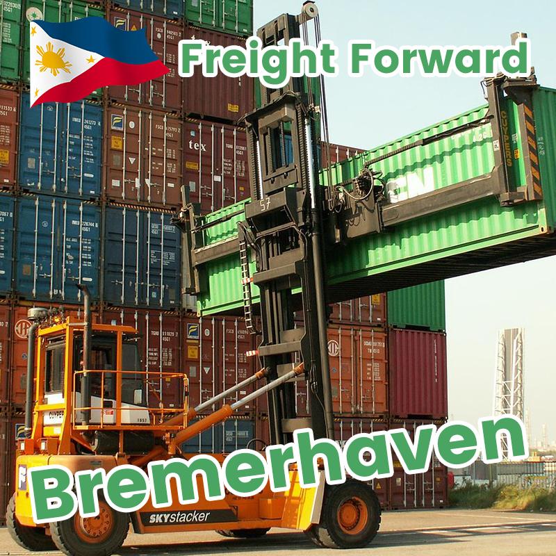 Pagpapalabas ng Pilipinas Pagpapadala sa Europa / UK Sea Freight Door sa Door Shipment Custom Clearance
