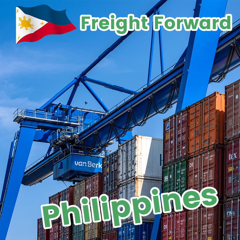 Forwarder Philippines shipping to Europe/UK sea freight door to door shipment custom clearance