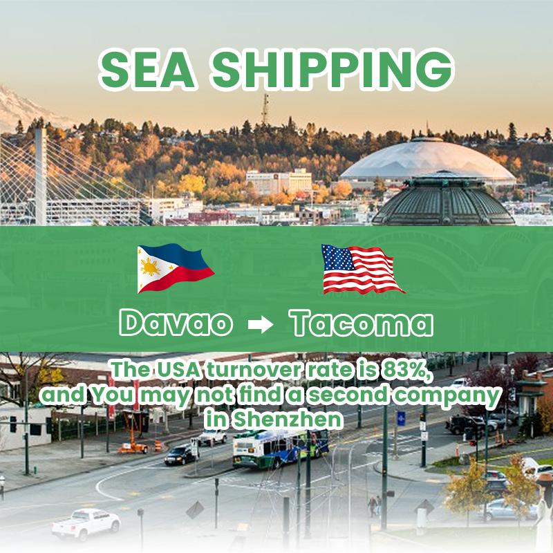 Ocean Cargo Manila sa Los Angeles sa pamamagitan ng China Freight Forwarder Shipping Philippines sa USA