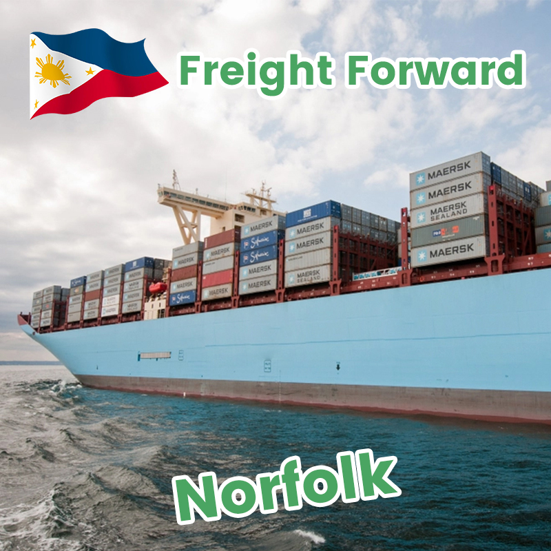 Freight forwarder shenzhen door to door service sea shipping from Philippines to USA cheap transportation company