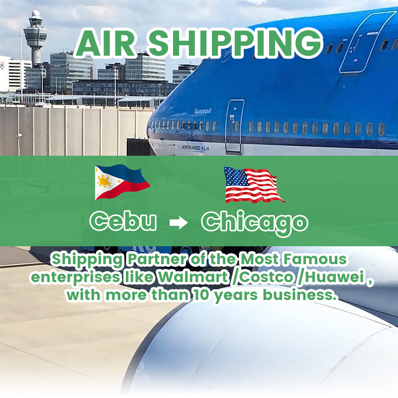 从宿务菲律宾到洛杉矶美国的航空货运代理商送货