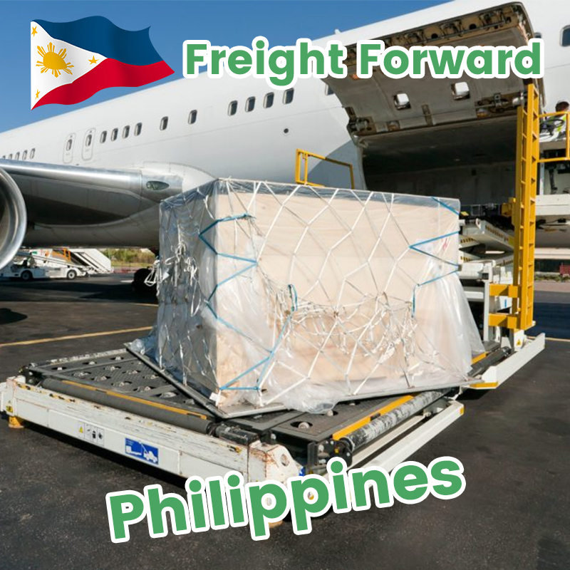 Shipping from China to Philippines DDP air freight cheap rates from Shenzhen Guangzhou to Manila