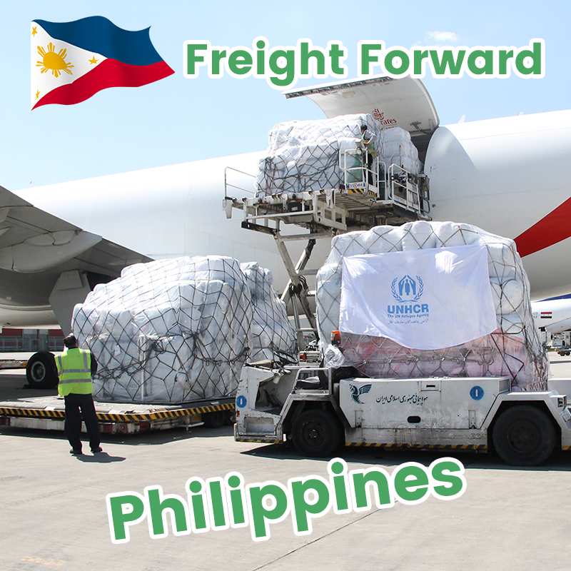 Shipping agent from Philippines to Canada air freight rates forwarding service