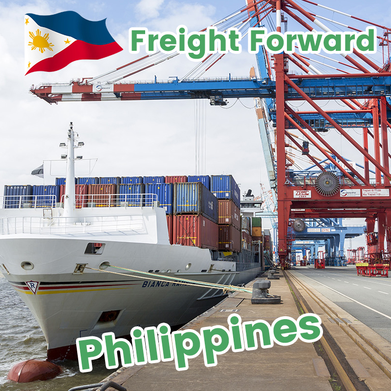 Shipping agent in China from Davao Philippines to USA sea freight forwarder