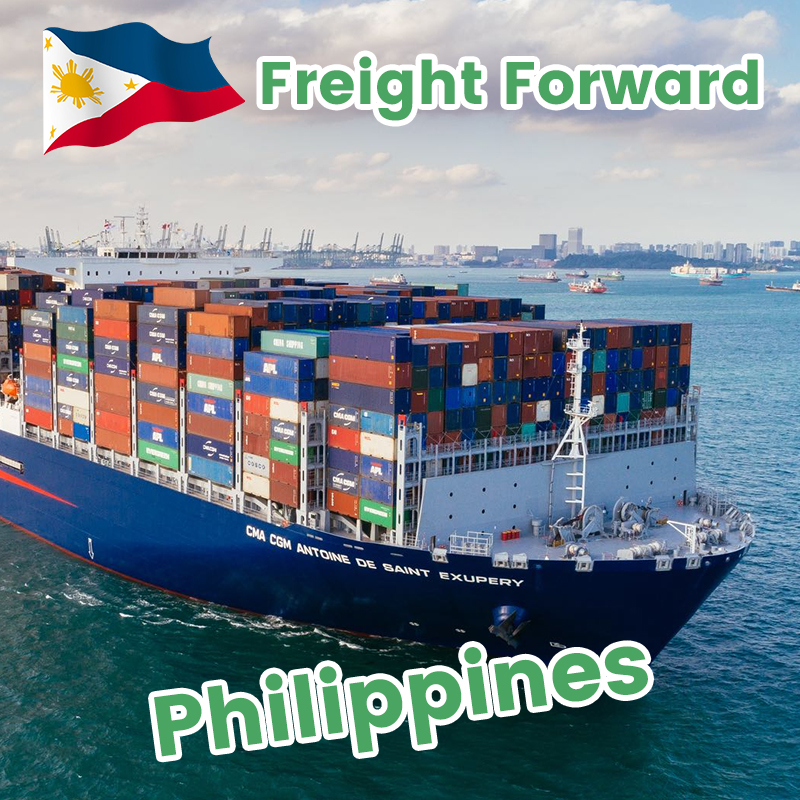 Shipping from Philippines to Europe shipping to UK sea freight forwarding rates customs clearance service