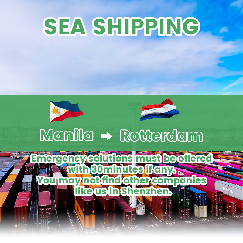 WIFFA WCA certified shipping agent sea freight forwarder Philippines to Europe