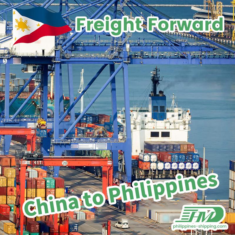 Pagpapadala mula sa Tsina hanggang Cebu Philippines Pagpapadala ng Agent Sea Freight Rate