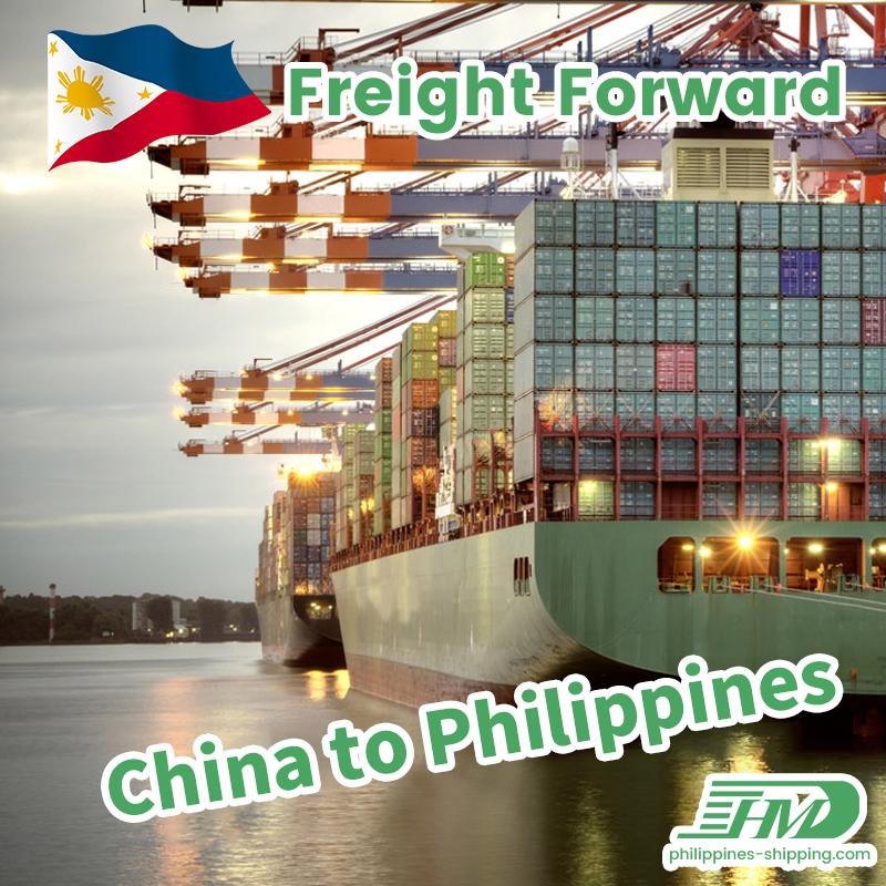 Ocean Freight Import Products mula sa China sa Davao Philippines Sea Shipping Logistics Service