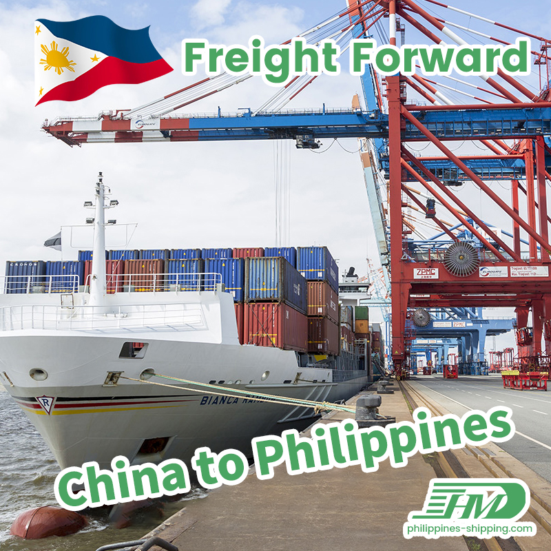 Shenzhen freight forwarder to Philippines Guangzhou to Manila consolidation service sea shipping door to door