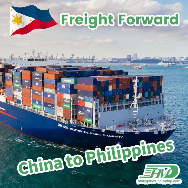 Freight forwarder to Philippines shipping agent in Shenzhen from Guangzhou to Davao sea freight door to door
