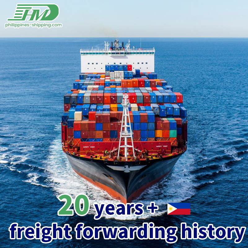 Shipping agent sea freight forwarder from China to Cebu Philippines with custom clearance