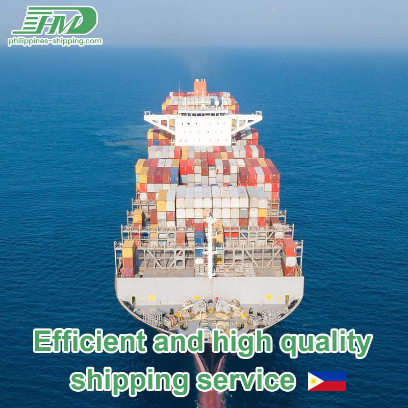 Sea Shipping Agent mula sa Pilipinas sa Canada Ocean Freight Fee Door to Door Services