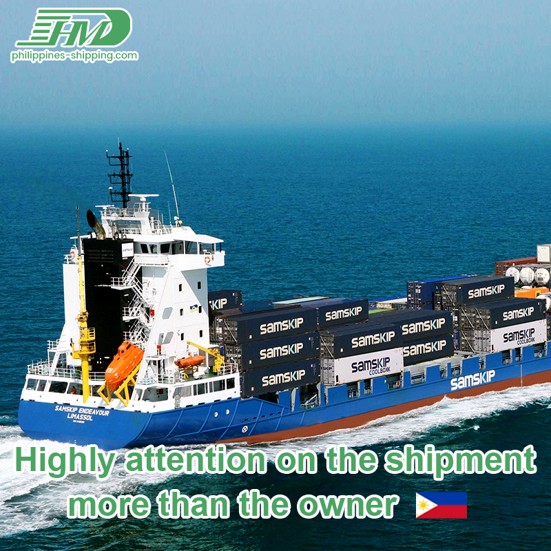 Sea shipping from China to Philippines forwarder in Shenzhen door to door ocean freight rates