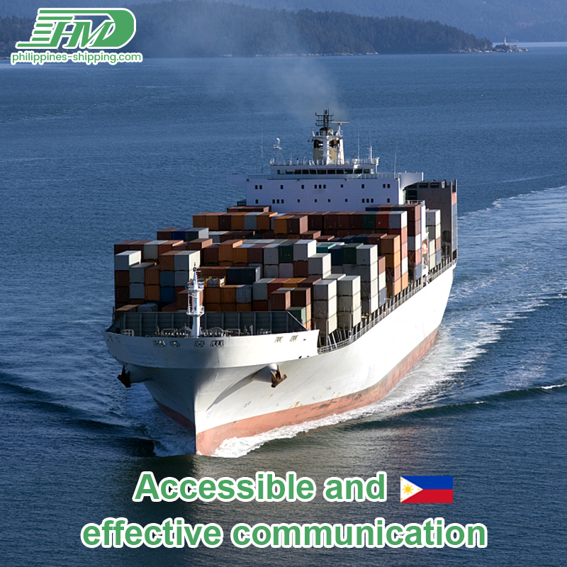 Customs clearance shipping from China to Philippines sea freight forwarder ocean cargo rates