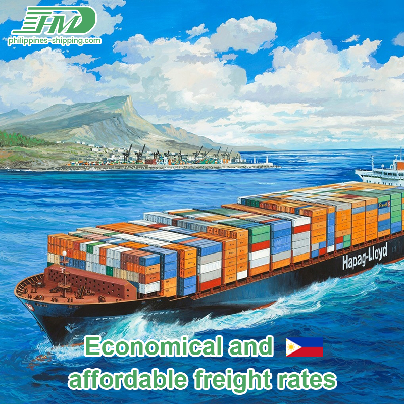 FBA shipment goods forwarder from Philippines to USA by sea freight DDP service