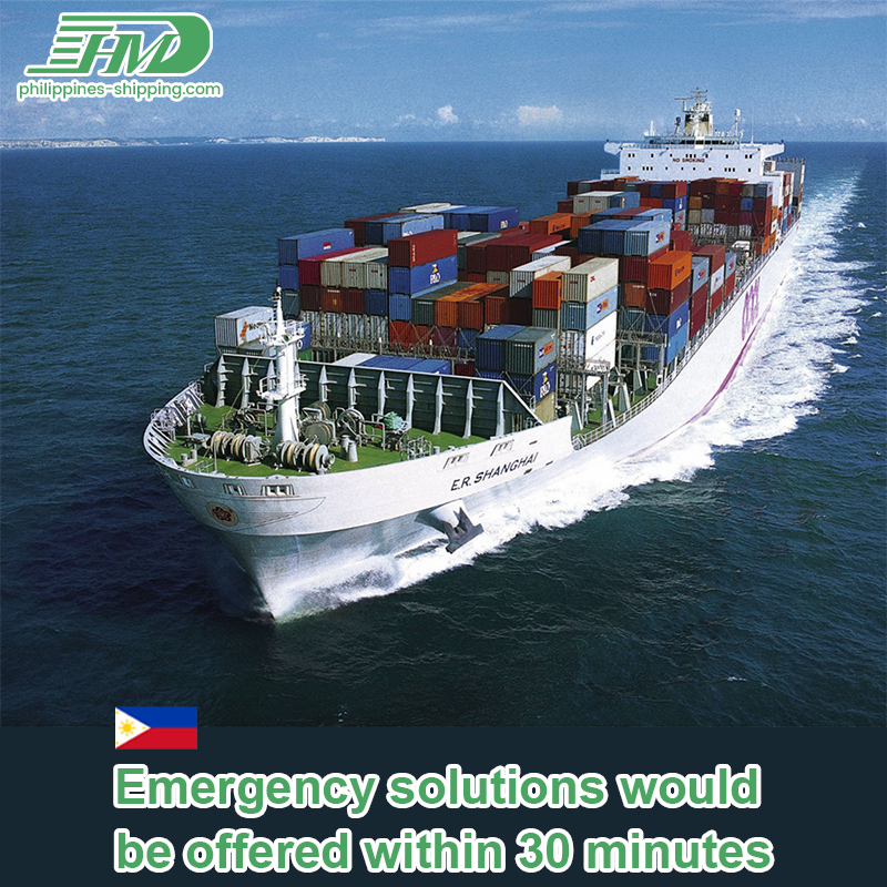 Sea shipping agent from Philippines to Canada ocean freight fee door to door services