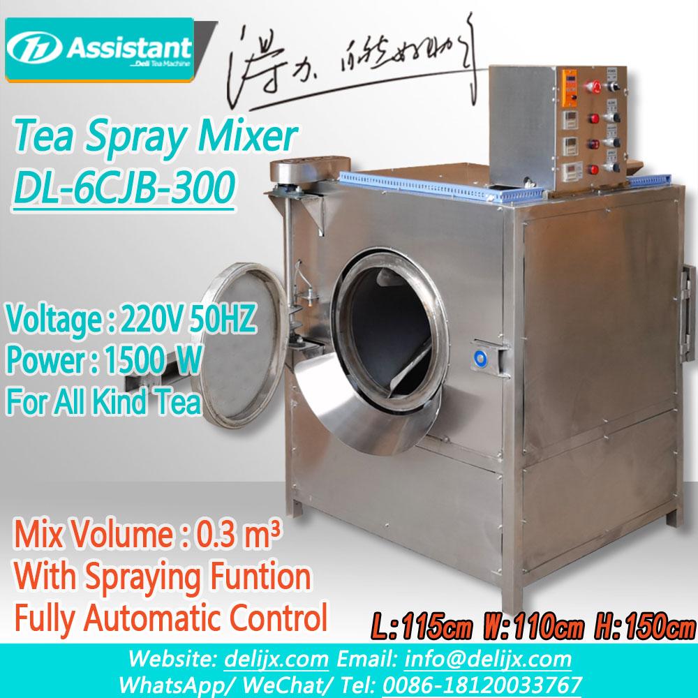 Chine  Machine de mélange et d\'aromatisation de pulvérisation de thé DL-6CJB-300 fabricant