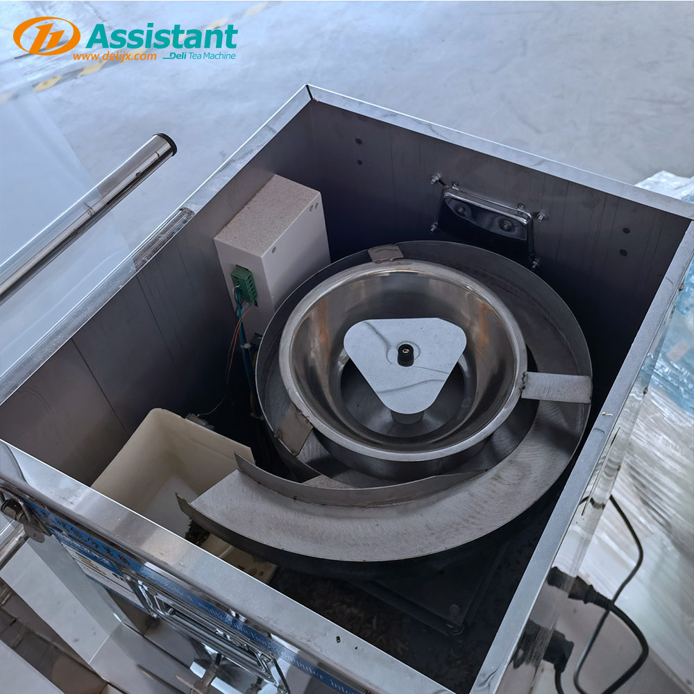China Vibration Manual Tea Pouch Sachet Filling Machine DL-6CFZ-20 manufacturer