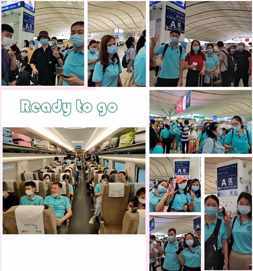 Sunny Glassware annual traveling in Zhangjiajie