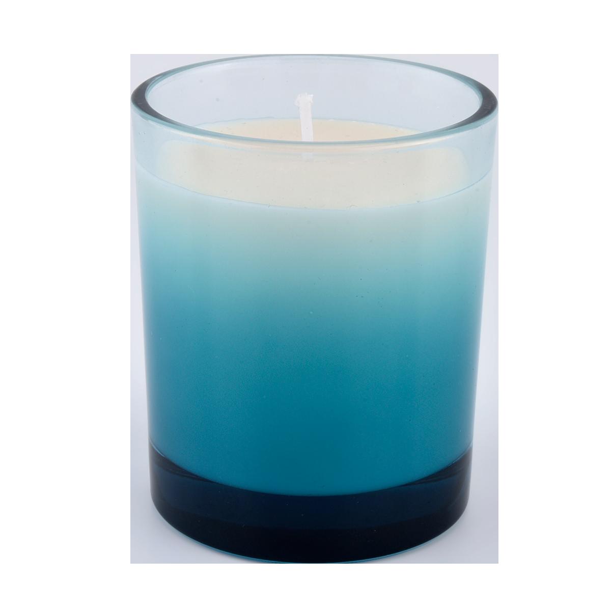 Vlastné sviečkové sklo poháre gradient rampore decor 300ml