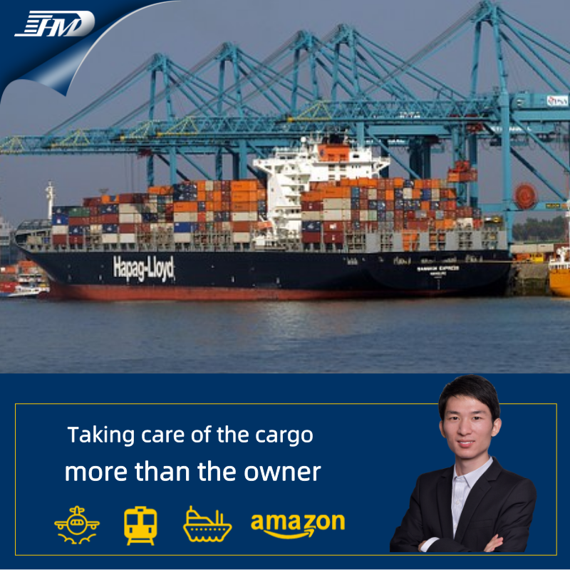 Door to door cargo services shipping rates freight forwarder from China to USA