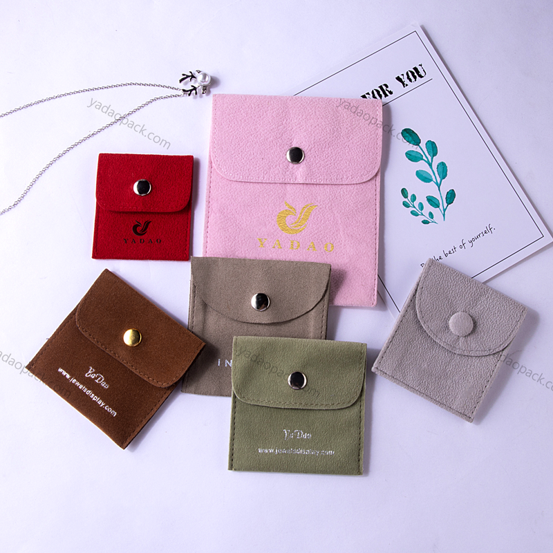 Square Snap Pouch in Different Size and Color