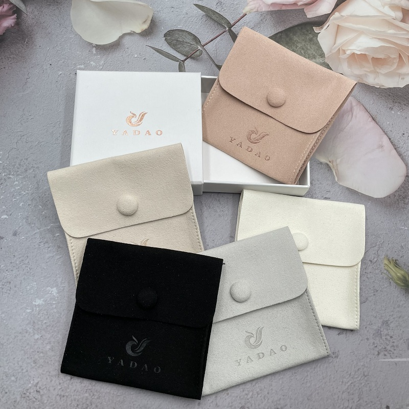 Yadao button microfiber pouch support 200pcs to order